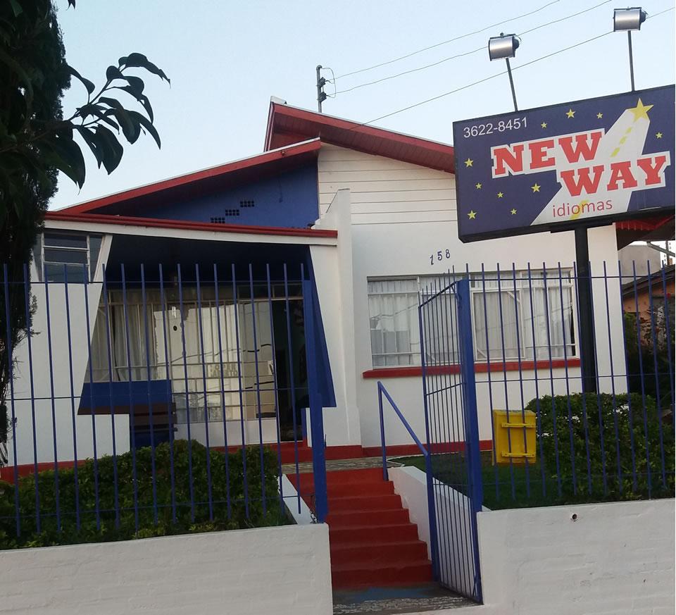 imagem fachada da New Way Escola de Idiomas